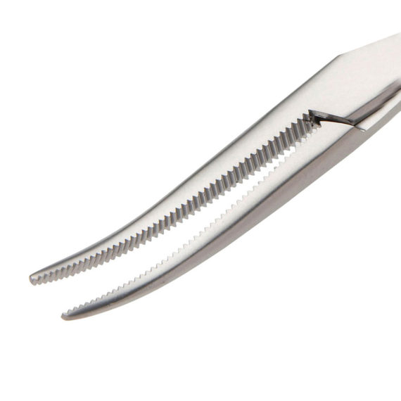 Adson Frazier Artery Forceps Curved with Fully Serrated Jaws 180mm B