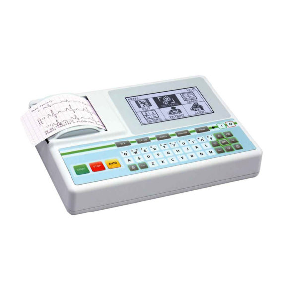 ASPEL AsCARD Green B/W ECG Machine