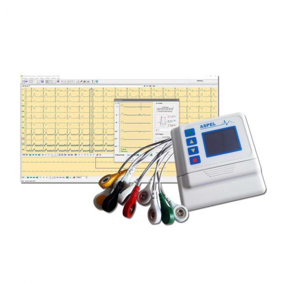 ASPEL AsPEKT 712 v.301 Holter Monitor and Software