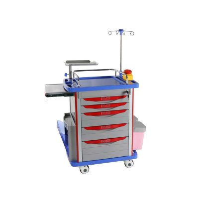 Hospital-Crash-Cart-Mst-ABS25-ABS-Medical-Emergency-Nursing-Trolley
