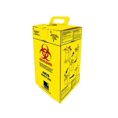 Sharp Safety Cardboard Box