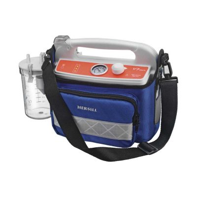 Hersill V7 Plus B Emergency HIGH VACUUM portable suction machine..