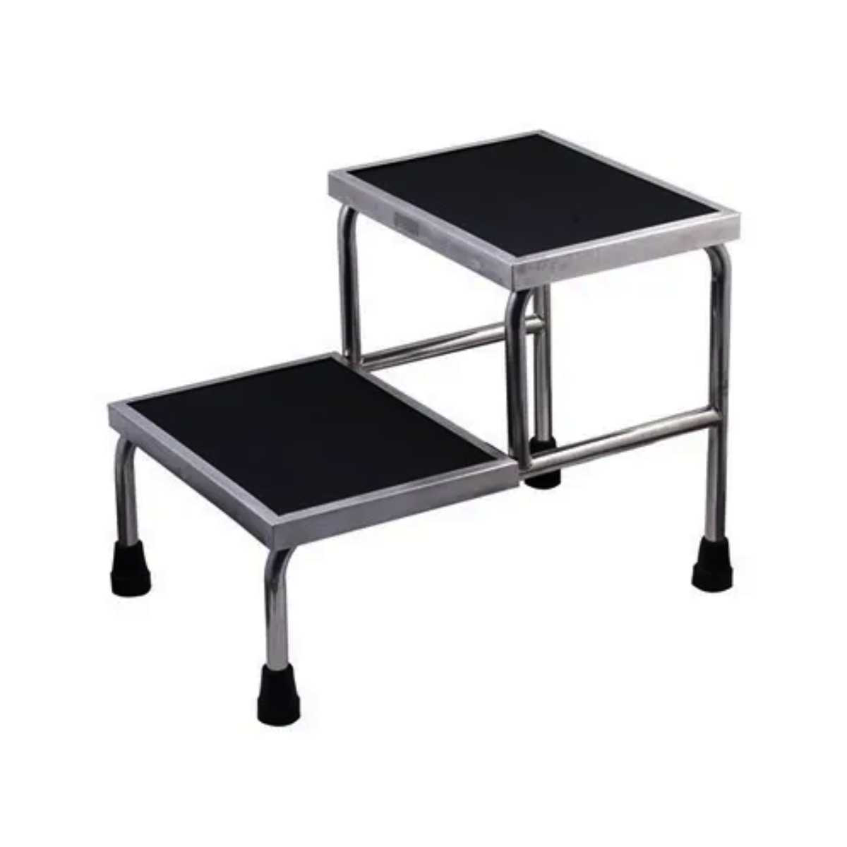 Stainless Steel Hospital Two Step Stool Halomedicals Systems Limited