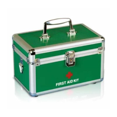 first aid box aluminium large