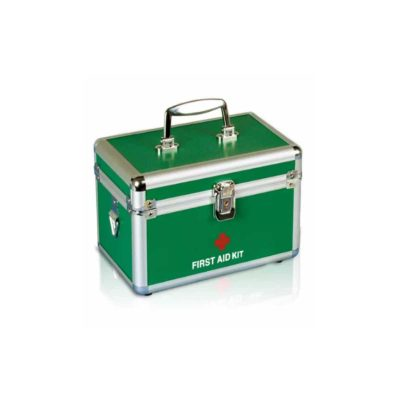first aid box aluminium small