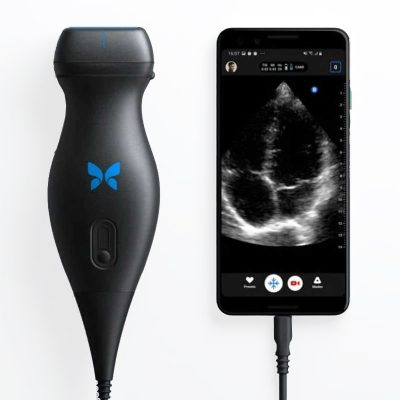 Butterfly IQ Portable Ultrasound machine..