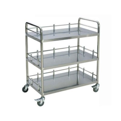 3 Layers Instrument Trolley